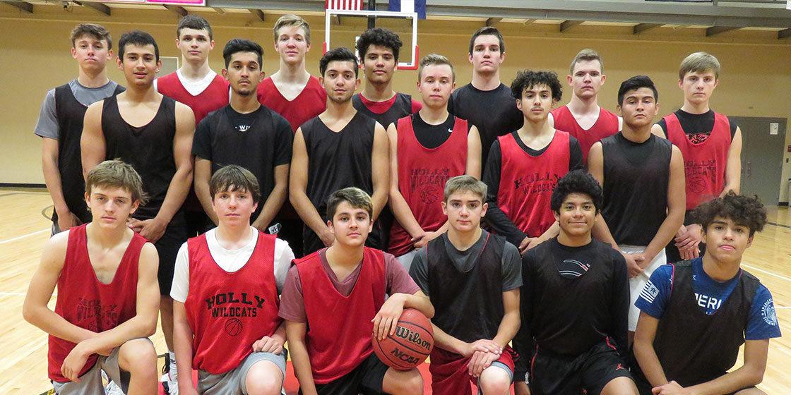 Holly Wildcats 2018 Basketball Team