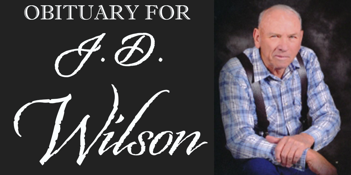 Obituary for JD Wilson